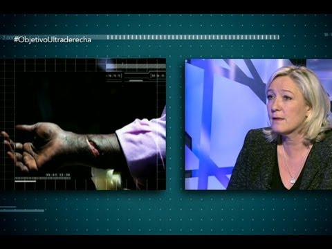 """El Objetivo - Marine Le Pen: """"Ya no hay sitio para los inmigrantes en Europa"""""""