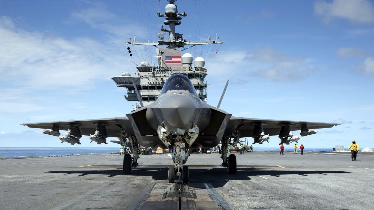 (Wednesday, April 10, 2019) US Navy Declares Newest F-35