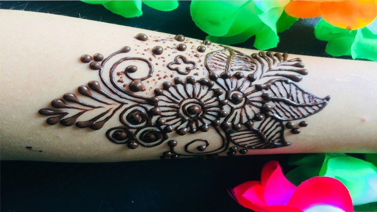 Cute Mehndi Tattoo : Henna tattoo silver white pretty esay boho detal wedding lovely