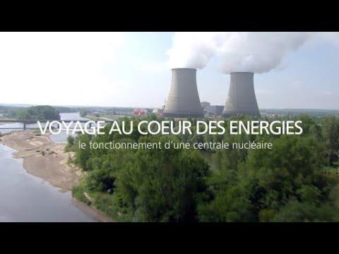 Le fonctionnement d'une centrale nucléaire