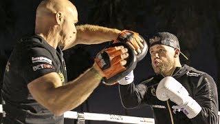 Billy Joe Saunders - FULL L.A. PUBLIC WORKOUT | KSI vs. Logan Paul 2 Undercard