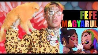 """6ix9ine, Nicki Minaj, Murda Beatz - """"FEFE"""" (MAGYARUL)"""