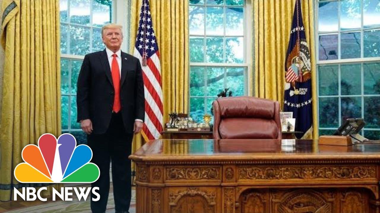 Trump Addresses The Nation On Coronavirus From Oval Office | NBC News (Live Stream)
