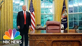 Trump Addresses The Nation On Coronavirus From Oval Office | NBC News (Live Stream Recording)