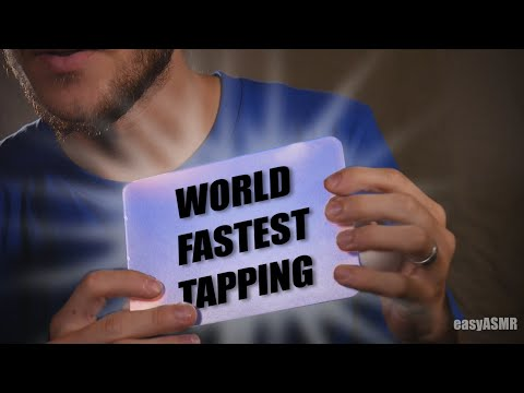 ASMR FASTEST TAPPING EVER...EVER!