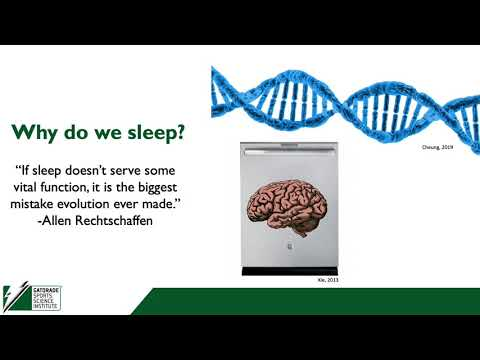 Industry-Presented Webinar: Sleep Tactics for Better Health and Performance