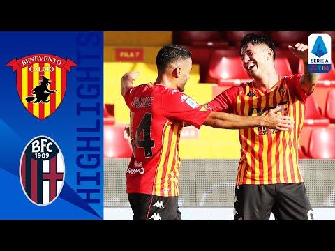 Benevento Bologna Goals And Highlights