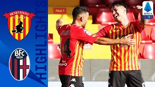 Benevento 1-0 Bologna | Lapadula volley seals 3-points for Benevento | Serie A TIM
