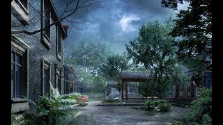 Sad Piano & Soft Rain - Stress Relief, Relaxing Sleep Music