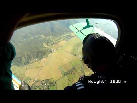 Skydiving in Balakan with Banzai Parachute Club