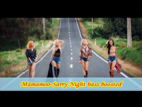 Mamamoo-Starry Night bass boosted