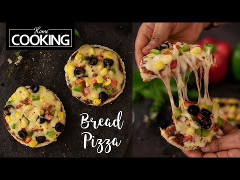 bread-pizza-|-quick-pizza-|-homemade-pizza