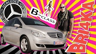 Mercedes B-class| 1 GEN| Test and Review| Bri4ka.com