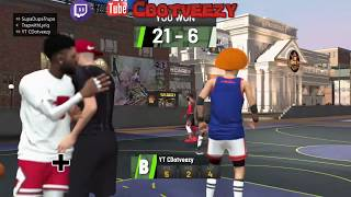 FINALLY!! 91 Overall Sharpshooting Shot Creator Gameplay in Mypark NBA 2k19