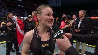 UFC 261: Valentina Shevchenko Octagon Interview