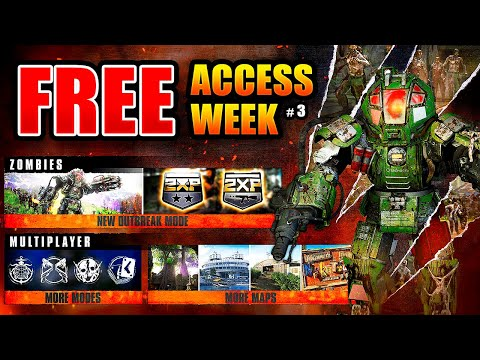 Black Ops Cold War FREE ACCESS WEEK - MULTIPLAYER & OUTBREAK ZOMBIES w/ Double XP - Starting Feb. 25