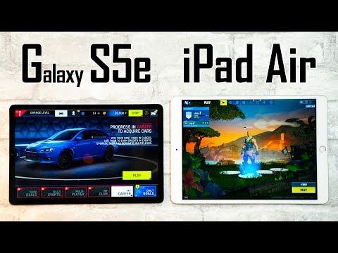 Galaxy S5e Vs IPad Air - A Gaming Comparison