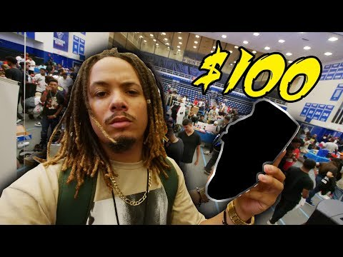 Download Youtube: WHAT CAN $100 BUY YOU AT A SNEAKER SHOW ?!?! SNEAKER SHOPPING WITH $100 AT KIXFAIR