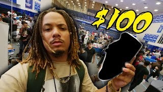 WHAT CAN $100 BUY YOU AT A SNEAKER SHOW ?!?! SNEAKER SHOPPING WITH $100 AT KIXFAIR