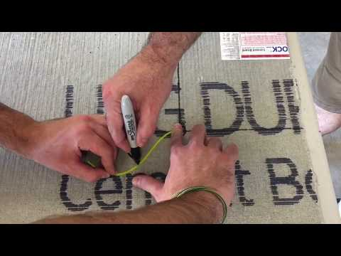 Part 2 – How To Install Durock On The Floor - Complete Bathroom Remodel