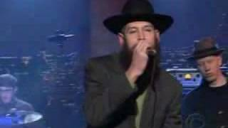 Matisyahu King Without a Crown Live In TV Letterman