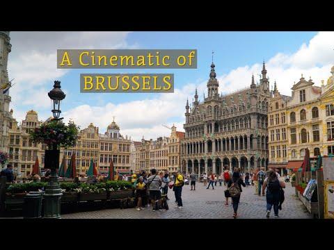 BRUSSELS - BELGIUM | Cinematic Travel Video