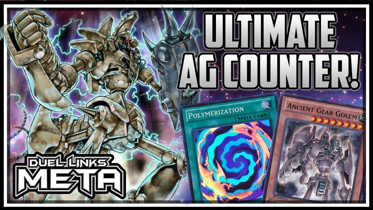 Near 100% Win Rate Ancient Gear Counter! ULTIMATE Ancient Gear Golem!  [Yu-Gi-Oh! Duel Links]