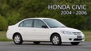 Honda Civic 2004 - 2006 detailed review | Price | Specs | Mileage.
