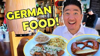 Trying GERMAN FOOD f๐r the First Time   German Food Reaction!
