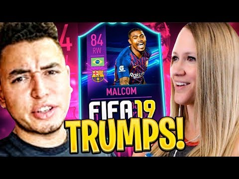 HUGE WALKOUT IN TWO PLAYER PACK!! FIFA 19 Ultimate Team Trumps!!