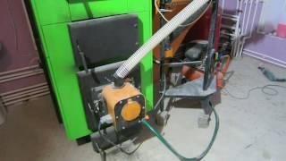 Мультитопливная Котельная 50+ кВт без газа,  уголь дрова пеллеты