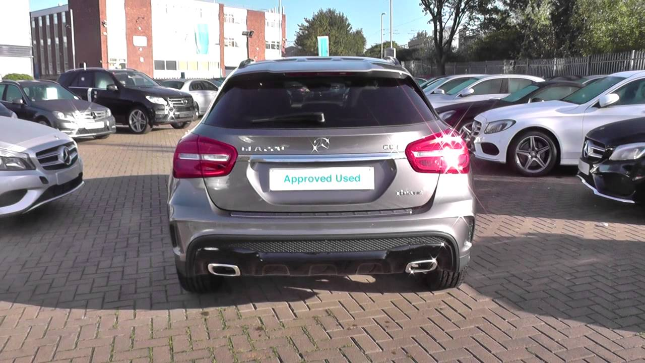 mercedes benz gla class gla 220 cdi 4matic amg line 5dr auto pre plus u22198 youtube. Black Bedroom Furniture Sets. Home Design Ideas