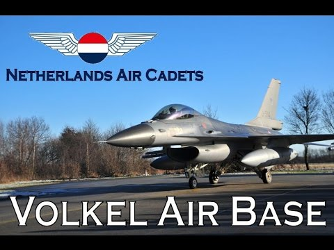 Netherlands Air Cadets - NLAC - Air base/vliegbasis Volkel