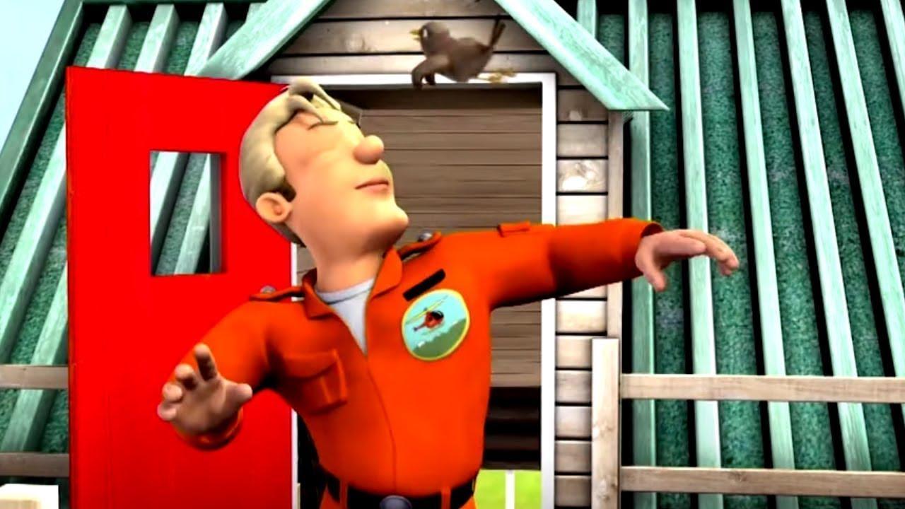 Tom Thomas madár tánc! | Sam a tűzoltó ⭐️ Tűzoltó videók | Rajzfilmek gyerekeknek