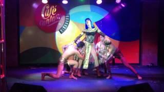 Britney D Cuba & Divino Dancers - Katy Perry Dark Hourse en el Cafe Cantante