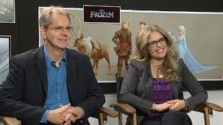 Chris Buck & Jennifer Lee Interview: Disney's Frozen