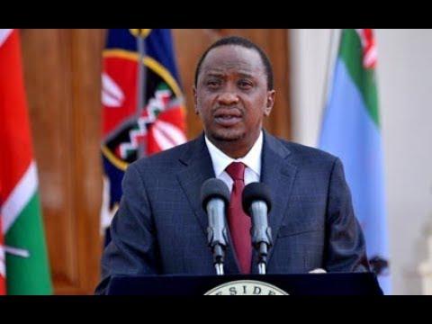 Uhuru Kenyatta : Kenya going through trying times