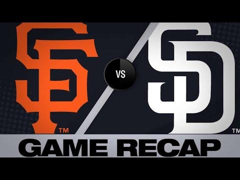 3/30/19: Panik, Smith lead Giants to 3-2 victory