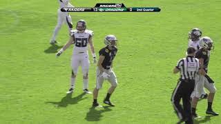 AFL: Swarco Raiders vs Danube Dragons - The  Highlights
