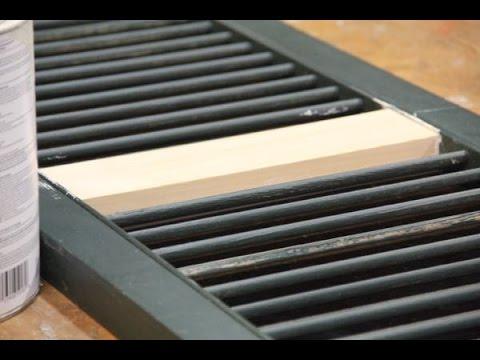 Repairing A Wood Shutter