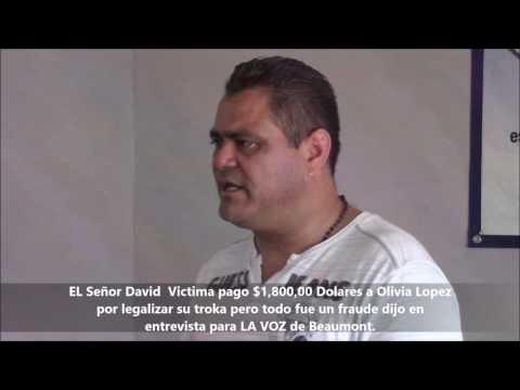 FRAUDE A PAISANOS EN HOUSTON TX CON LEGALIZACION DE VEHICULOS EN MEXICO..Lavoznews.tv