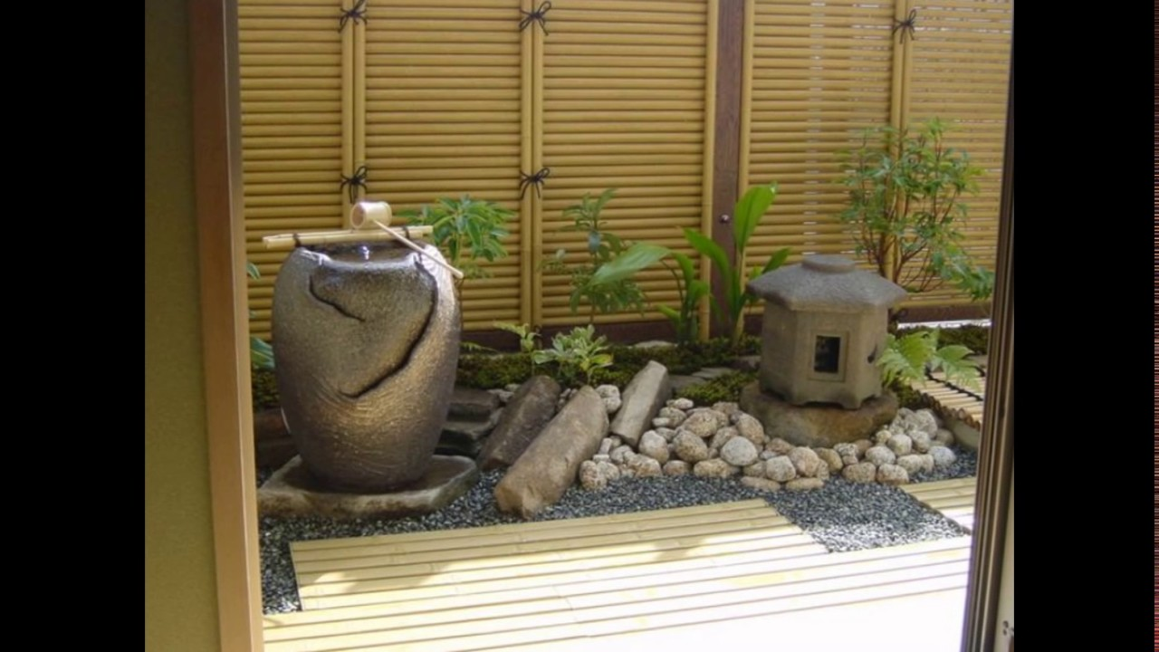 Small Zen Garden Ideas YouTube