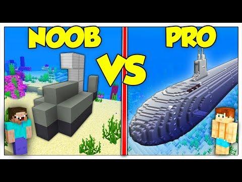SOTTOMARINO NOOB CONTRO SOTTOMARINO PRO! - Minecraft ITA thumbnail