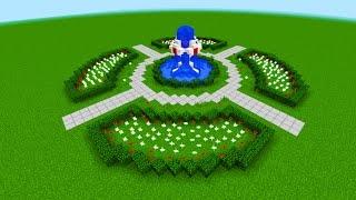 фонтан в Майнкрафт как построить