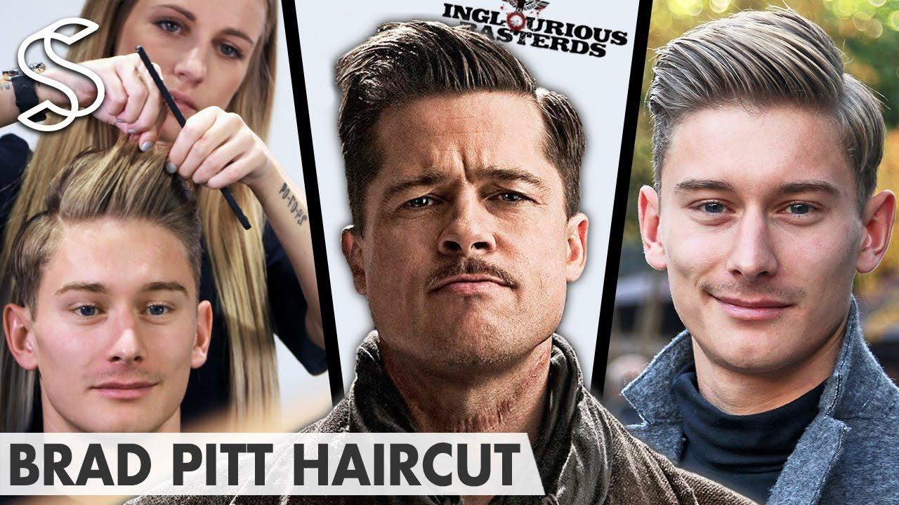 Brad Pitt Hairstyle ★ Inglourious Basterds Lt. Aldo Rai ...