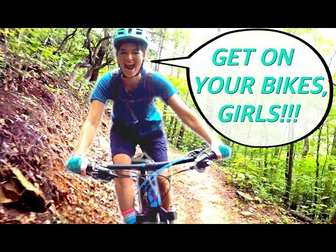 INSIDE THE MIND OF A RAD LADY RIDER   Pisgah mountain bike adventure with my friend Annabell
