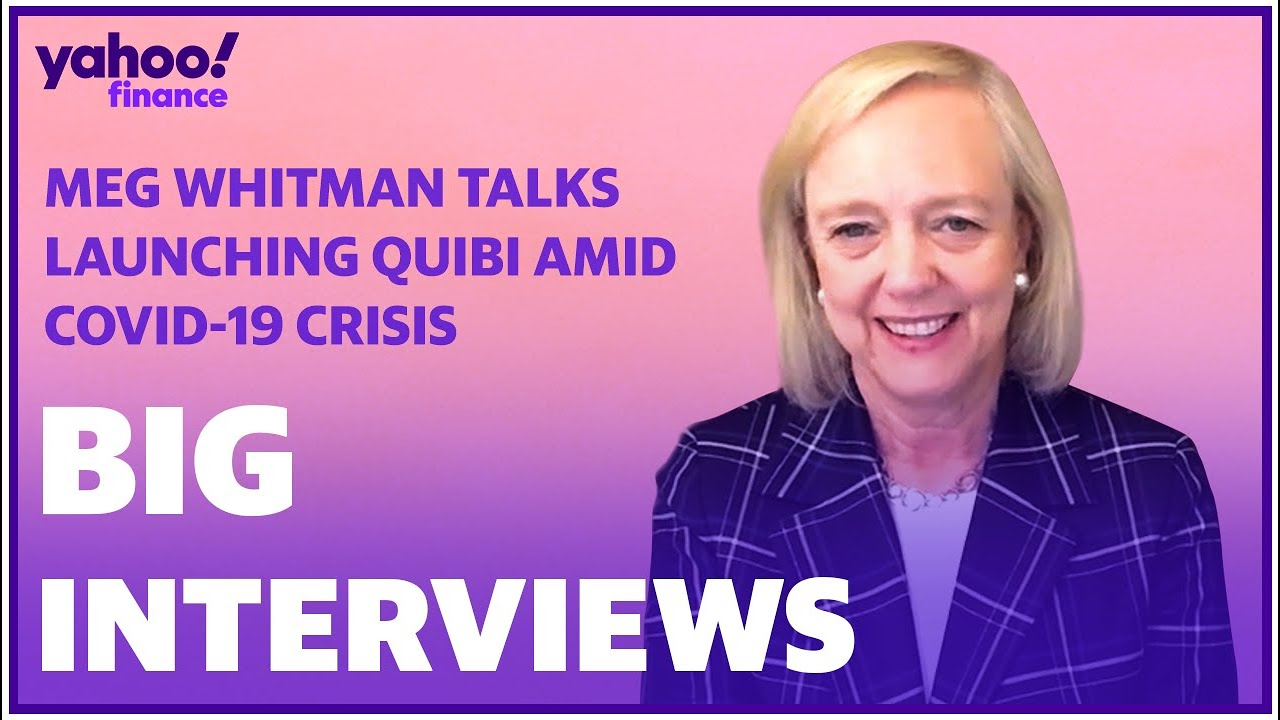 Quibi CEO Meg Whitman discusses the launch of her mobile video platform amid the COVID-19 crisis.