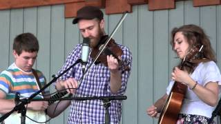 A Tyler Tale and A Fiddle Tune- Empty Bottle String Band at Natural Tunnel State Park 6/30/13