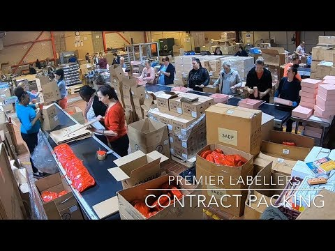 Contract Packing in Full Production