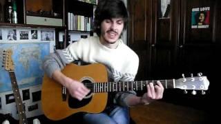 Fabrizio De André - Se ti tagliassero a pezzetti Guitar Cover